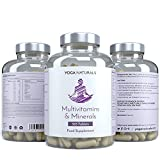Best Multivitamin Supplement For Men - Multivitamins & Minerals 365 Capsules 1 Year Supply Multi-Vitamin Review