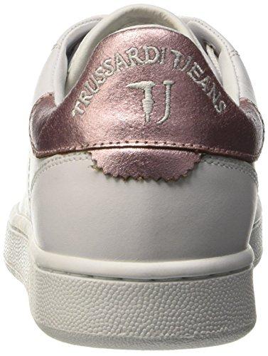 Trussardi Jeans 79S01849, Scarpe da Ginnastica Donna Rosa (132 BCO/Rosa)