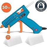 Hot Glue Gun 50W Tilswall Mini Melt Gun Electric Heats Up Quickly