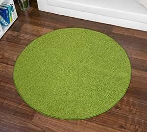 hochflor shaggy teppich fontana gr n rund nach ma versandkostenfrei schadstoffgepr ft. Black Bedroom Furniture Sets. Home Design Ideas