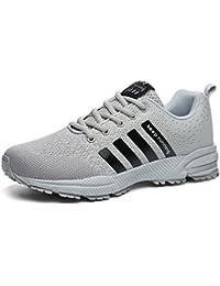 Sollomensi Zapatillas Hombres Mujer Deporte Running Zapatos para Correr Gimnasio Sneakers Deportivas Padel Transpirables Casual