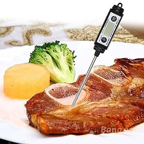 mark8shop style stylo numérique Thermomètre Sonde alimentaire Thermomètre pour cuisson