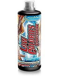 Ironmaxx Low Calories Sportsdrink Cola+Koffein, 1er Pack (1 x 1 l)