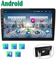 Android Autoradio GPS 9'' Auto Radio CAMECHO 2 Din Touchscreen FM AM Radio Bluetooth WiFi Handy Spiege