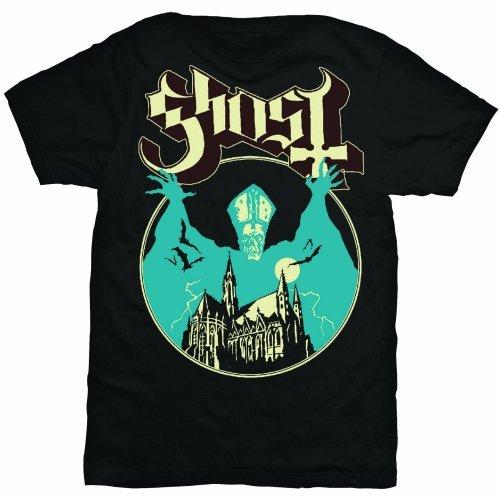 Rock Off Herren Regular Fit T-Shirt Ghost Opus Schwarz
