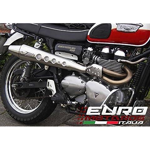 Triumph Scrambler Carburatore Zard Impianto Scarico Completo Alto +1.5CV System Exhaust