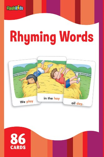 Rhyming Words Flash Kids Flash Cards