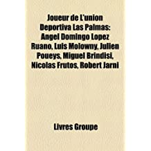 Joueur de L'Union Deportiva Las Palmas: Angel Domingo Lopez Ruano, Luis Molowny, Julien Poueys, Miguel Brindisi, Nicolas Frutos, Robert Jarni