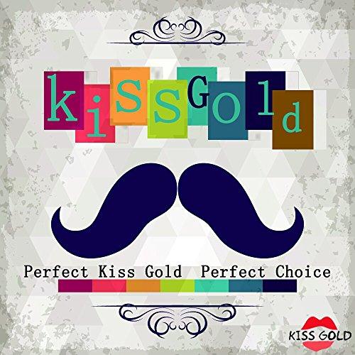 KISS GOLD (TM) Mademoiselles PU Cuir Sacs Bandoulières avec Motif Carreau+Bracelet de Chaîne Echarpe Noir