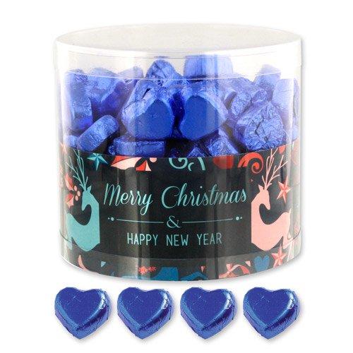 Preisvergleich Produktbild 150 Schokoladenherzen Fantasy Weihnachten