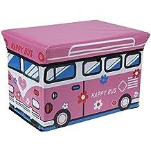 Caja para juguetes caja de juguetes para niños caja de almacenaje juguete pecho caja 47L