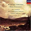 R Strauss: Horn Concertos; works for horn and piano