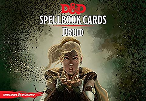 Gale Force Nine GF973903 Dungeons and Dragons Druid Spell Deck Game (110 Cards)