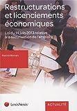 Restructurations et licenciements économiques...
