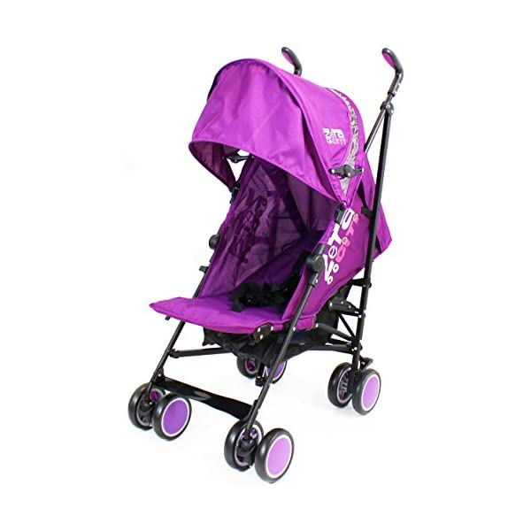Zeta Citi Stroller Buggy Pushchair - Plum ZETA 12 Month FREE Warranty When Purchased and used from birth only. Warranty VOID If Purchased And Used For Babys Over 12 Months Lightweight stroller suitable for babies from Birth Umbrella fold for a compact folded size 4