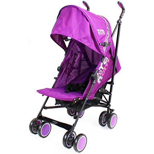 Zeta Citi Stroller Buggy Pushchair Plum Buggies Prams