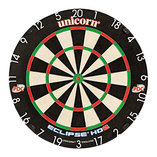 *Unicorn Dart Board Eclipse HD2 TV Edition Bristle Board, 79448*