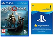 God of War + 3 Months PSN Membership (PS4)