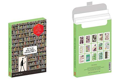 15 cartes postales pour fêter les livres