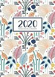 2020 Tageskalender: Tagesplaner Ein Tag pro Seite mit Jahres und Monatsübersicht | Tracking von Gewohnheiten | Din A4 | VOL 3 - Visufactum Kalender