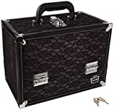 Best Train Cases - Caboodles Stylist Train Case, Black Lace Over Silver Review