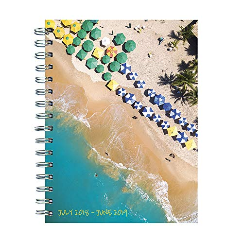 Tropical Beaches Medium Weekly Monthly 2019 Agenda