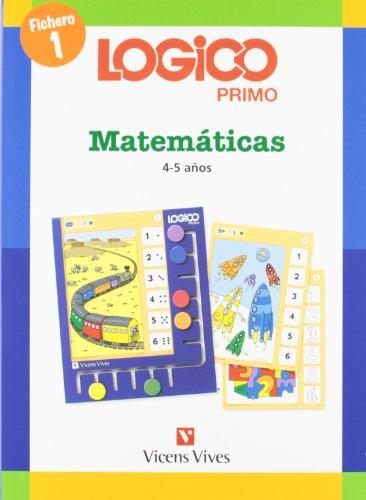 Logico Primo Matematicas 1 (4-5años) par Neuer Finken Verlag