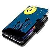 Book Style Cover Flip custodia cover rigida motivo foto per Huawei Ascend Y330-AuswahlX7Design a scelta
