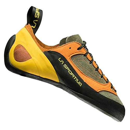 La Sportiva Finale, Zapatos de Escalada para Hombre, (Brown/Orange 000), 39 EU