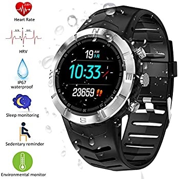 Padgene Reloj Inteligente IP67 Impermeable Bluetooth SmartWatch ...