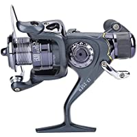 Spinning carrete de pesca anticorrosión carrete de pesca rueda Pesca Bastidor arrastre 20–60fr, 20FR