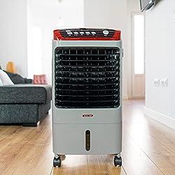 ECO-DE ECO-698 Ventilateur froid 70W Chaleur 2Kw, portable, télécommande, purificateur, humidificateur, minuterie