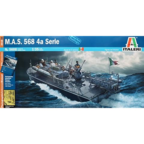 Italeri 5608S MAS 568 serie 4A - Maqueta de barco (escala 1:35) [importado de Alemania]
