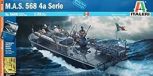 Italeri 5608S MAS 568 serie 4A - Maqueta de barco (escala 1:35) importado de Alemania
