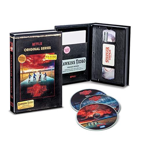 Stranger Things Season 2 (Blu-Ray + ),Exklusive VHS Retro Verpackung Sammleredition