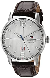 Tommy Hilfiger Mens 1791217 George Analog Display Japanese Quartz Brown Watch