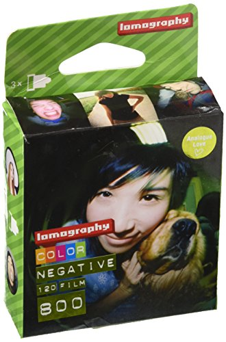 Lomography Color Negative 800 120 Rollfilm 3x