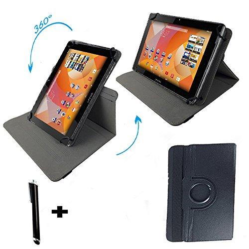 """MEDION LIFETAB S10346 MD 98992 10.1 \"""" Tablet PC Tasche mit Aufstell und Dreh funktion - 360° 10 Zoll Schwarz"""