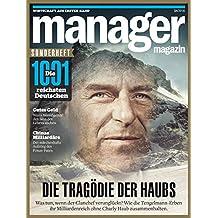 manager magazin Spezial 2018: Die Tragödie der Haubs
