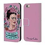 Head Case Designs Ufficiale Frida Kahlo Femminismo Arte E Citazioni Cover in Pelle a Portafoglio Compatibile con iPhone 6 / iPhone 6s