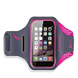 Best Accessory Power Running Armband For Samsung Galaxy S6 S6 Edges - iPhone 8/6s/7 Armband, Haissky Sport Armband for Iphone Review