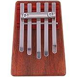 Ming Kalimba Pulgar Diseño de madera Tunable Masala rectangular de piano, Type B