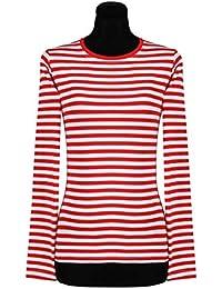 Suchergebnis auf Amazon.de für  ringelshirt rot weiß  Bekleidung e5e9c817f2