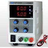 SKYTOPPWER Fuente de alimentacion regulable DC 0 - 60V 0 - 5A EU Plug