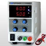 SKYTOPPOWER Laboratorio dispositivo di alimentazione DC regolabile 0 - 60V 0 - 5A 300W Regolabile Adattatore EU Plug