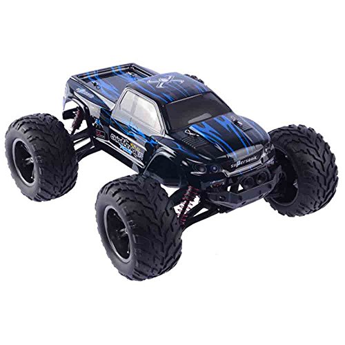 ZMH RC Auto 2.4 G 1:10 1/15 Scale Rennwagen Supersonic Monster Truck Off-Road Vehicle Buggy Elektronisches Spielzeug Für Das Alter 5 6 7 8 9 Jungen Kinder,Blue (Rc Trucks Für Verkauf)