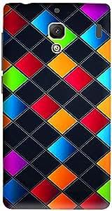 Meetarts Rprome_D429 Mobile Case for XiaomiRedmi 2 Prime (Multicolor)