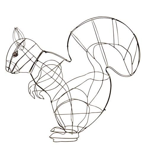 Buxus-Figur Eichhörnchen Drahtgestell Buchsbaum Former 60cm