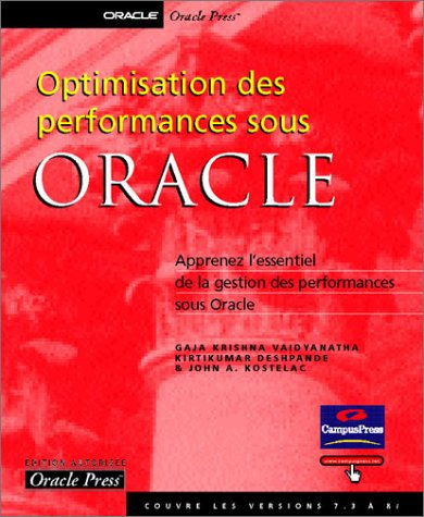 Optimisation des performances sous Oracle
