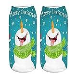 Felicove Weihnachtssocken, Weihnachten Socken Festlicher Baumwolle Socken Super Warm Socken für Geschenk Christmas Socks